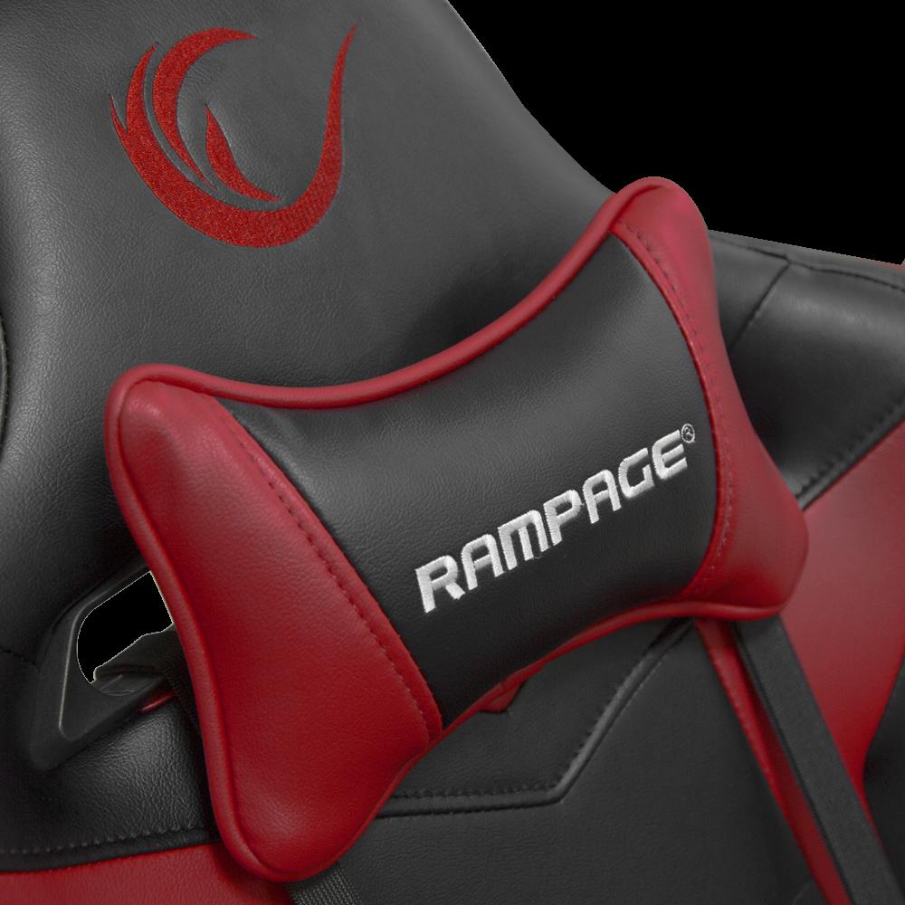 Rampage Kl R78 Kirmizi Siyah Oyuncu Koltugu Rampage