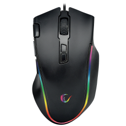 Rampage SMX-G72 GREEDY 8 Tuşlu Double Click Real RGB Ledli Makrolu Gaming Oyuncu Mouse